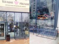 Велопарковки для сети магазинов «Калина-Малина»