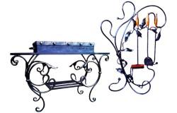 Кованые мангалы и аксессуары