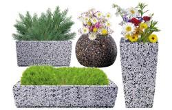 Вазоны из декоративного камня