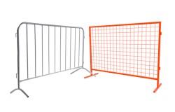 Металлические сигнальные ограждения, фан-барьеры