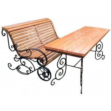 Стол и скамья «Мечта»