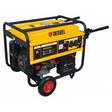 Бензиновый генератор DENZEL GE 4500E