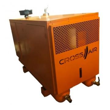Дизельный компрессор CrossAir CA/D(OS)-5.0/8 на ресивере (в кожухе)