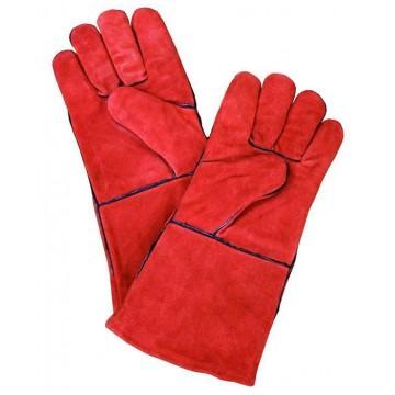 Перчатки пескоструйщика из кожи