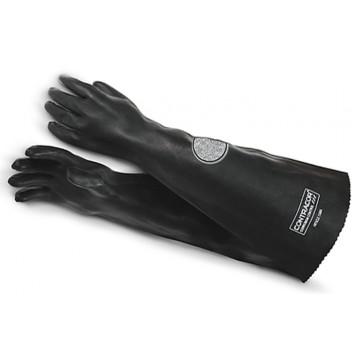 Перчатки пескоструйщика резиновые гладкие (RGS)