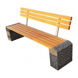 «Отдых» из декоративного камня и дерева