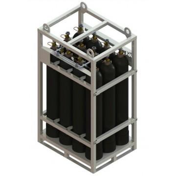 Клеть КГБ-8 для баллонов с кислородом, ацетиленом, углекислотой