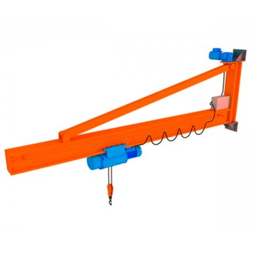 Консольный кран настенный с электрическим приводом