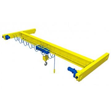 Подвесной мостовой кран с электрическим приводом
