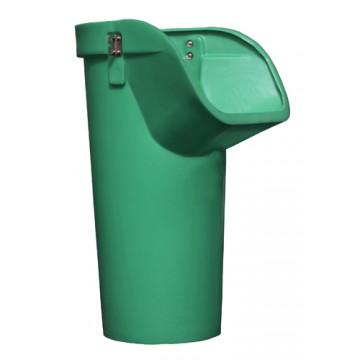 Секция мусороспуска приемная