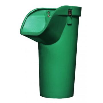 Секция мусороспуска приемная усиленная