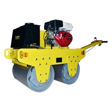 Виброкаток бензиновый двухвальцовый Vektor VRDR-600